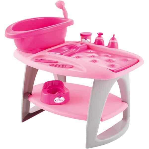 Fasciatoio con vasca da bagno per bambola - 10081647  GIOCHIMPARA SRL