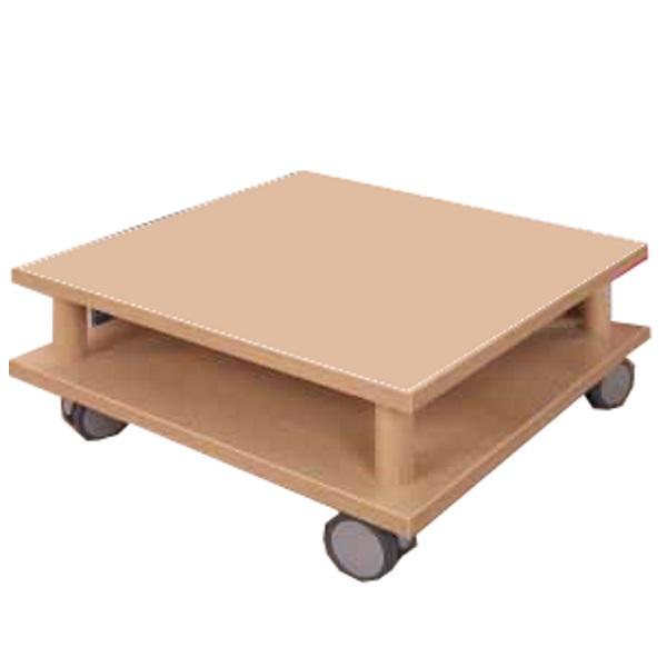 Tavolo basso con ruote eduline giochimpara srl - Tavolo con ruote ...
