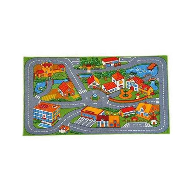 Tappeto citt 38024178 giochimpara srl for Piccola fattoria moderna