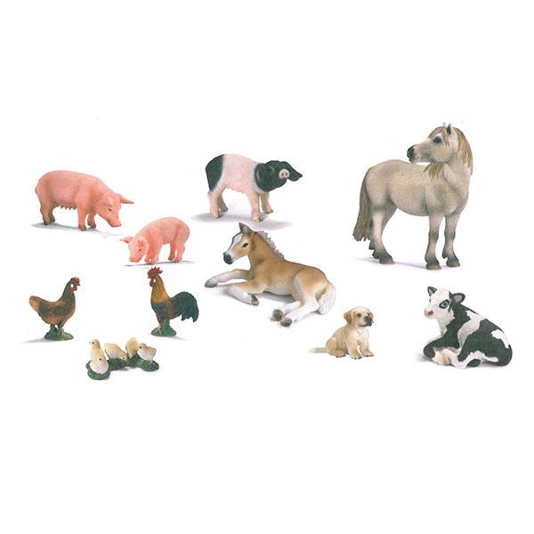 Animali della fattoria set2 cg43807 giochimpara srl for Piani di lavoro della fattoria