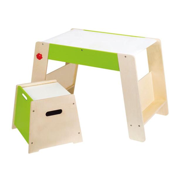 Tavolo con sgabello Hape - E1015 | GIOCHIMPARA SRL