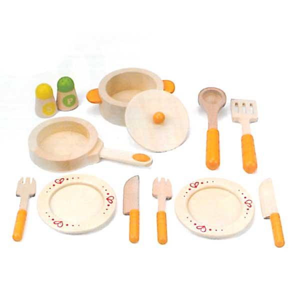 Utensili da cucina in legno e3103 giochimpara srl for Utensili cucina online shop