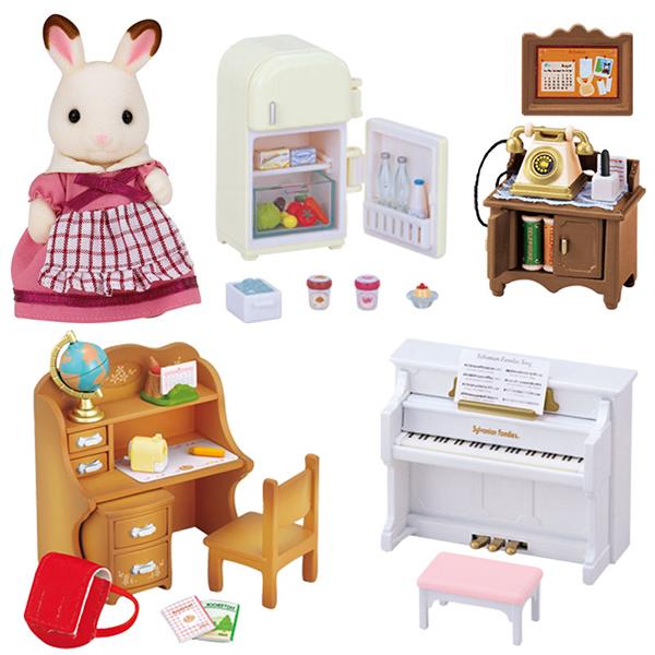 Sylvanian Families Set di mobili per figure e scegliere il set in scatola Nuovo di Zecca