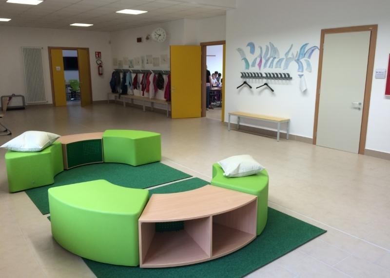 Centro scolastico unificato di nago torbole giochimpara srl for Scuola arredatore d interni