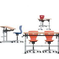 Banco alunni Ergo-III e sedia PantoMoveLupo