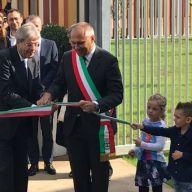 Il Presidente del consiglio Paolo Gentiloni inaugura il nuovo Polo Scolastico di Cernusco