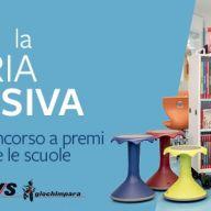 Vinci la libreria inclusiva! Nuovo concorso a premi in collaborazione con Erickson.